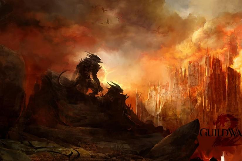 Guild Wars 2 dragon Wallpaper | High Quality Wallpaper