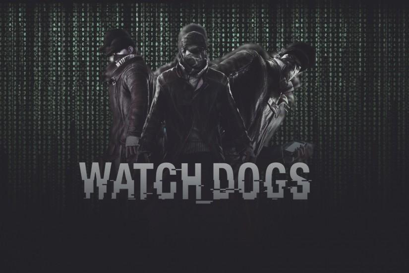 Watch Dogs Logo Wallpaper Watch dogs wallpaper 1920x1080