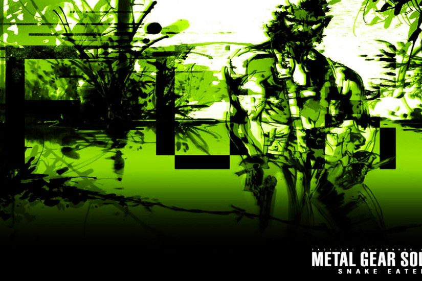 Free Metal Gear Solid 3 Wallpaper in 1920x1080