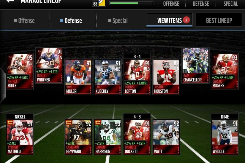 Secondary setup in mm16 - Madden NFL Mobile Discussion - Madden NFL Mobile  - Madden NFL 18 Forums - Muthead