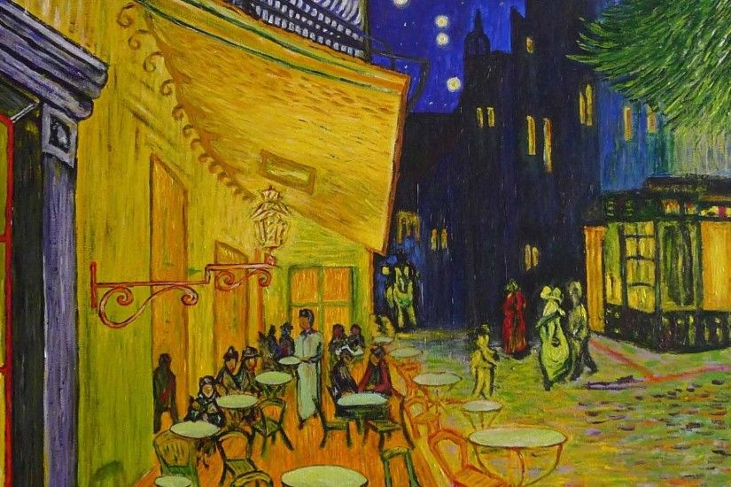 ... wallpapers 60; 1920x1080 van gogh cafe terrace at night cafe night van  gogh; computer ...
