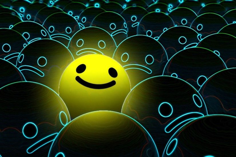 smiley face desktop wallpaper 49025