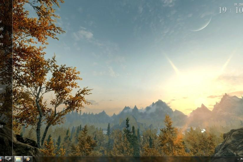 skyrim wallpaper 1920x1080 x screen