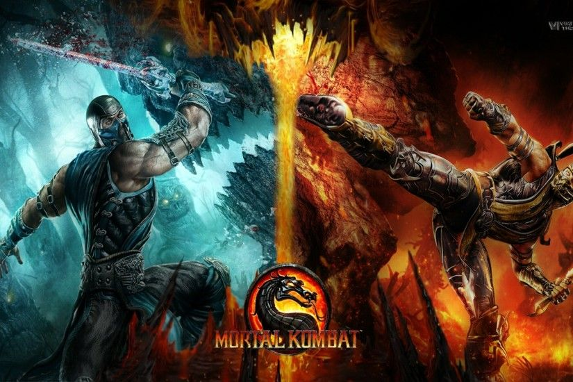 Mortal Kombat 9 Scorpion Vs Sub Zero