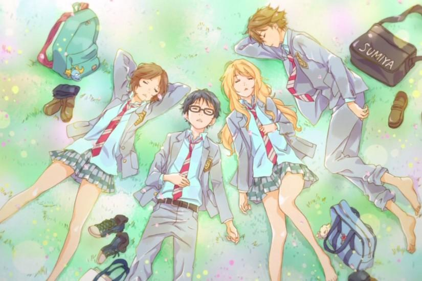 shigatsu wa kimi no uso - Been really excited about this recently :3