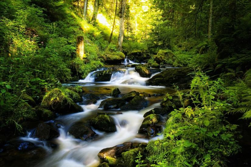 Awesome Nature River Wallpaper HD Wallpaper | WallpaperLepi