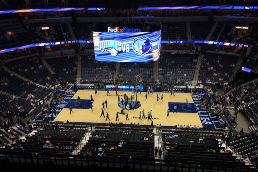 Seat View for FedEx Forum Section 225, ...