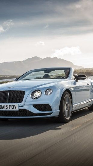 Preview wallpaper bentley, continental, gt, v8, convertible, side view  1440x2560