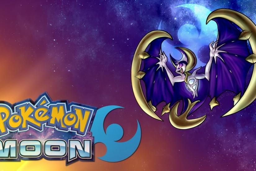Pokemon Moon Legendary Wallpaper Full HD
