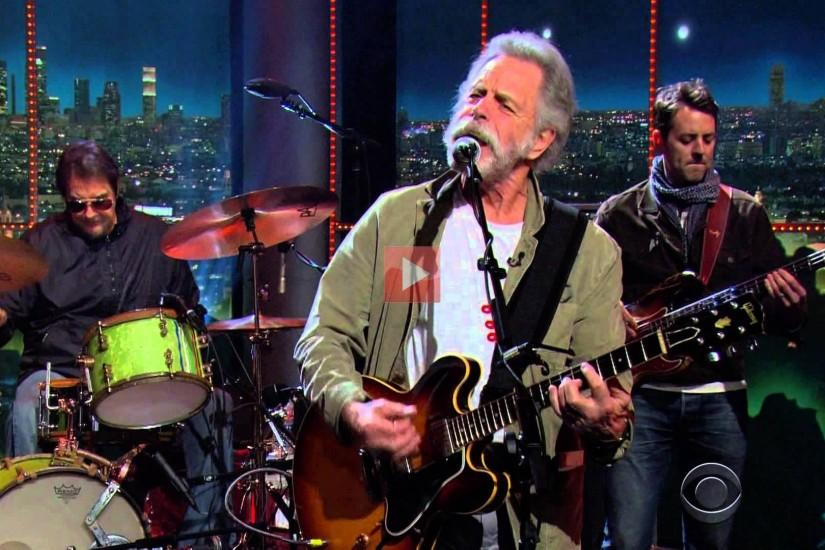 Bob Weir Of The Grateful Dead And John Mayer Play Music Together On The  Late Late Show 2-5-15 | StartingLinks.net