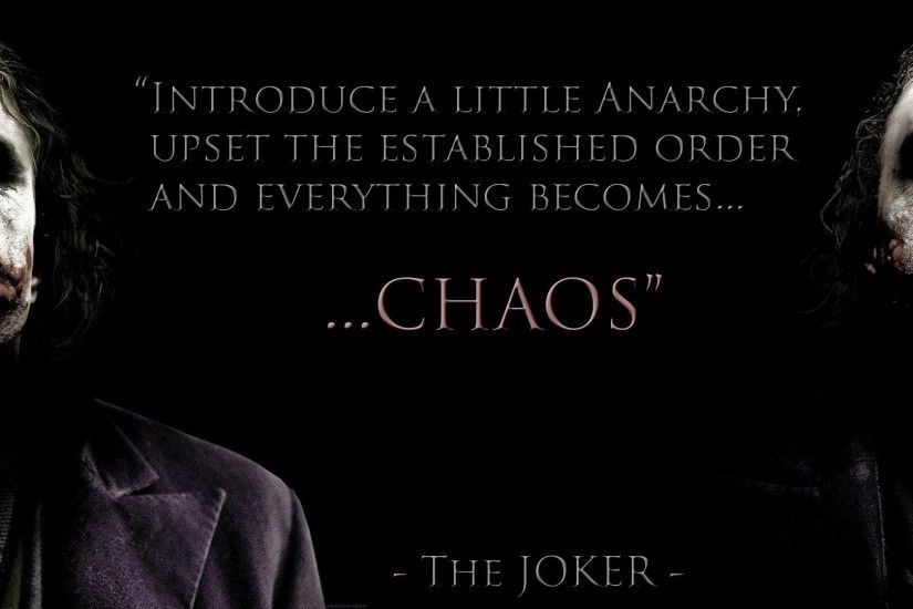Perfect Joker Quotes Dark Knight Wallpaper Download free wallpapers and desktop  backgrounds in a variety of