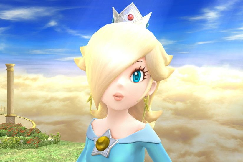 Sometimes I feel like Rosalina doesn't smile enough. Whenever Rosalina  smiles, it really makes her feel more adoring, as it shows that she's a  very caring ...