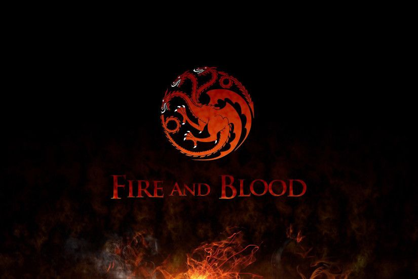 ... House Targaryen sigil - Game of Thrones HD Wallpaper 1920x1200