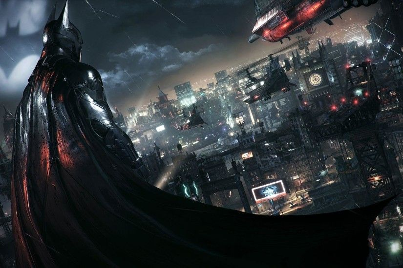 Batman Arkham Knight Wallpaper Photo The Dark Knight Batman City .