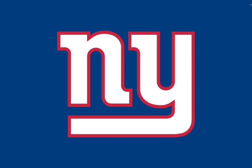 New York Giants logo wallpaper