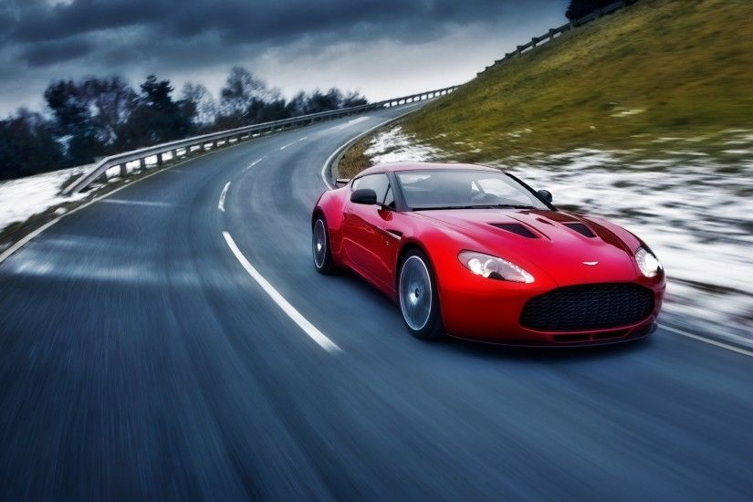 ... Wallpaper Of Sports Cars Luxury 2012 aston Martin V8 Vantage Computer  Wallpapers Desktop ...
