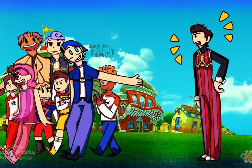 LazyTown Wallpaper by cute-Wolfgirl154 LazyTown Wallpaper by  cute-Wolfgirl154