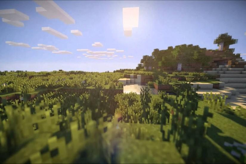 Minecraft 1.7.2 Shaders Mod (Minecraft Forge) © youtube.com