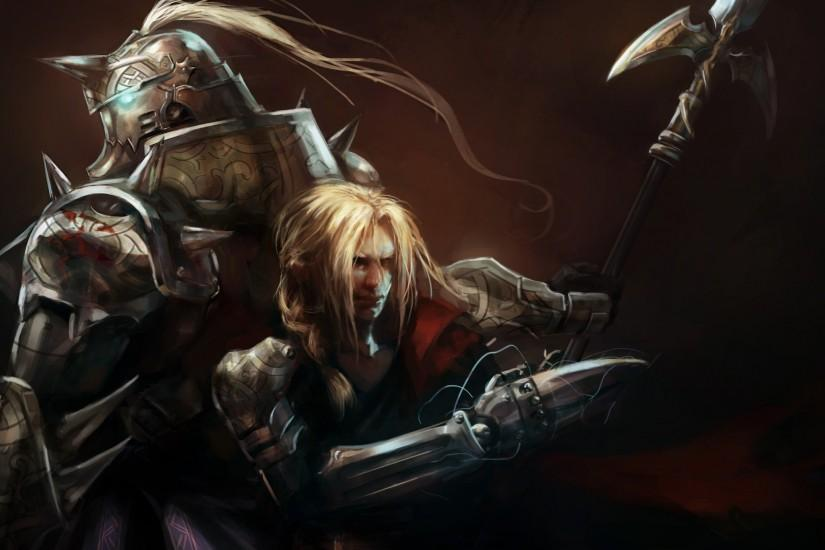 fullmetal alchemist brotherhood wallpaper 2560x1440 screen
