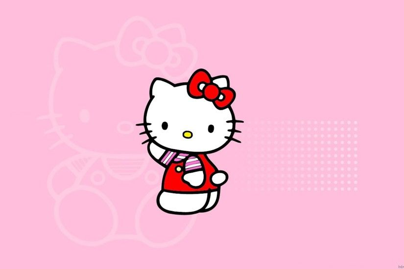Background Hello Kitty Pink