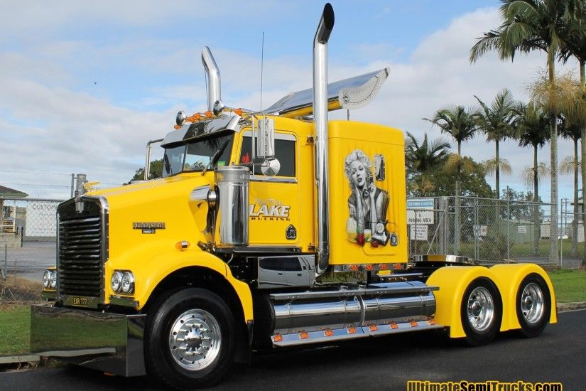 Wallpaper Image Tony & Tracey Lake Trucking Kenworth SAR