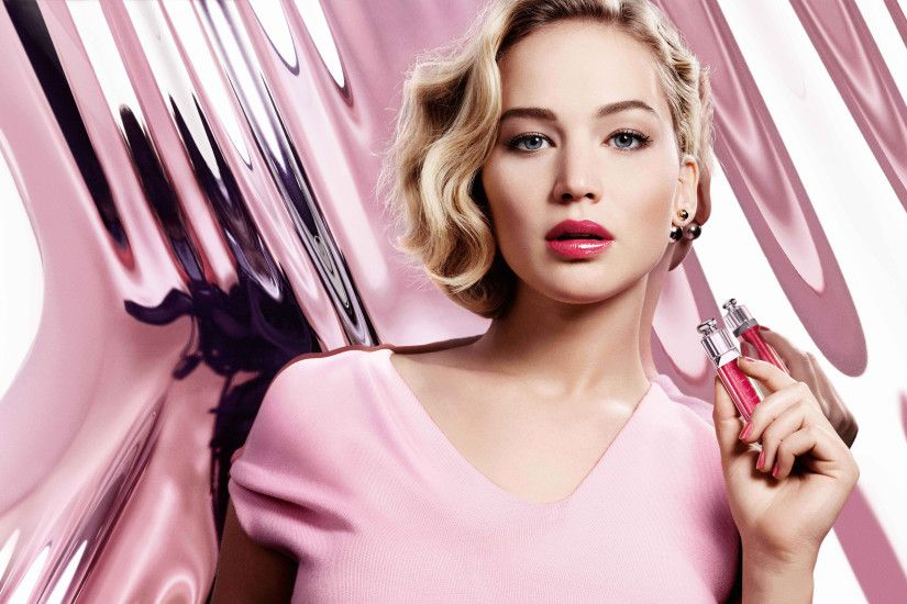 Jennifer Lawrence Dior Addict 2016 4K 8K