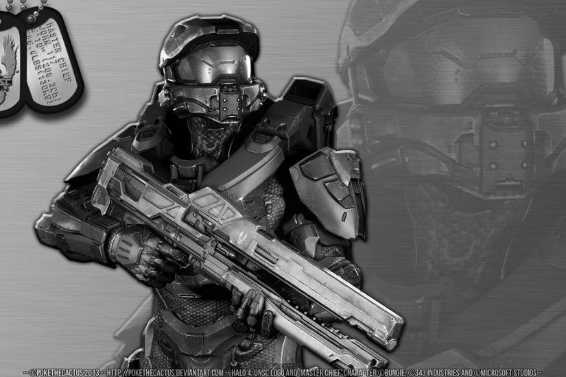 ... Stainless Steel /// Master Chief - HD Wallpaper by PokeTheCactus