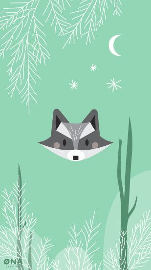 Raccoon Wallpaper