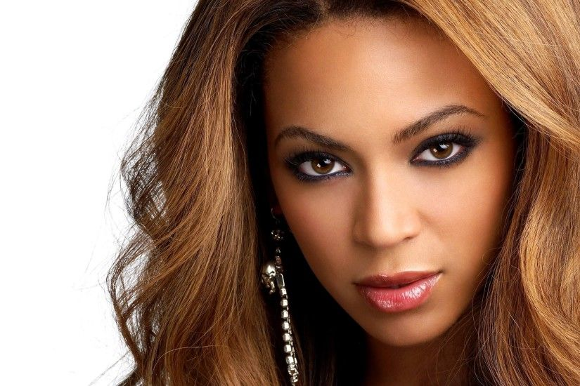 Beyonce Knowles Beautiful Face HD Wallpaper