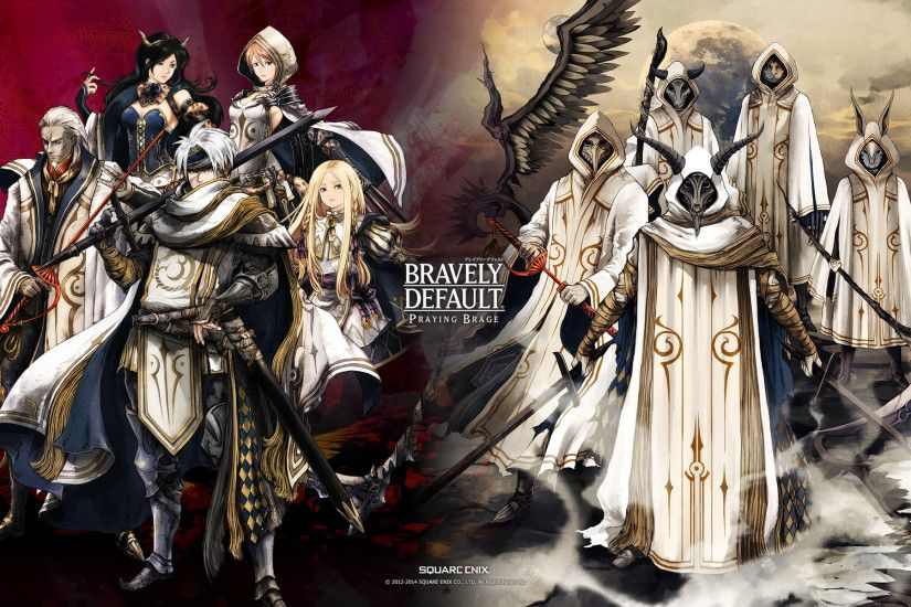 HD Wallpaper | Background ID:770957. 1920x1200 Video Game Bravely Default.  1 Like