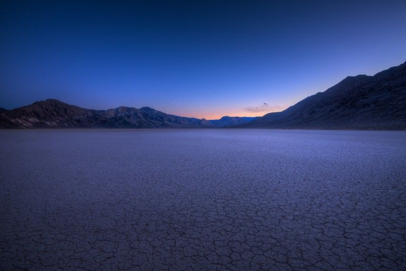 Death Valley Desert At Night