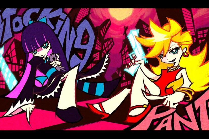 Coders Wallpaper Abyss Anime Panty & Stocking With Garterbelt 270501 .