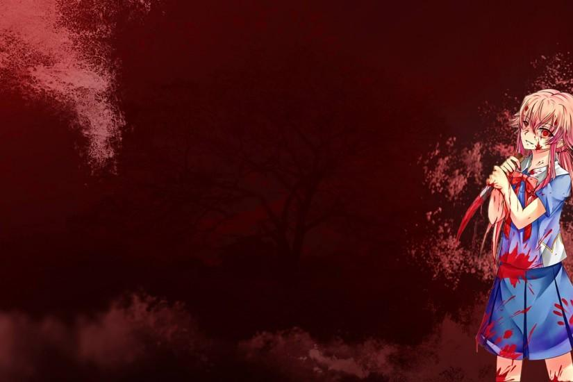 Yuno Gasai Wallpaper Yuno gasai - future diary by