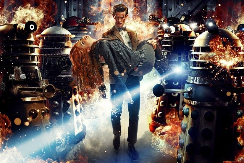 Doctor Who And Daleks for 2560x1600