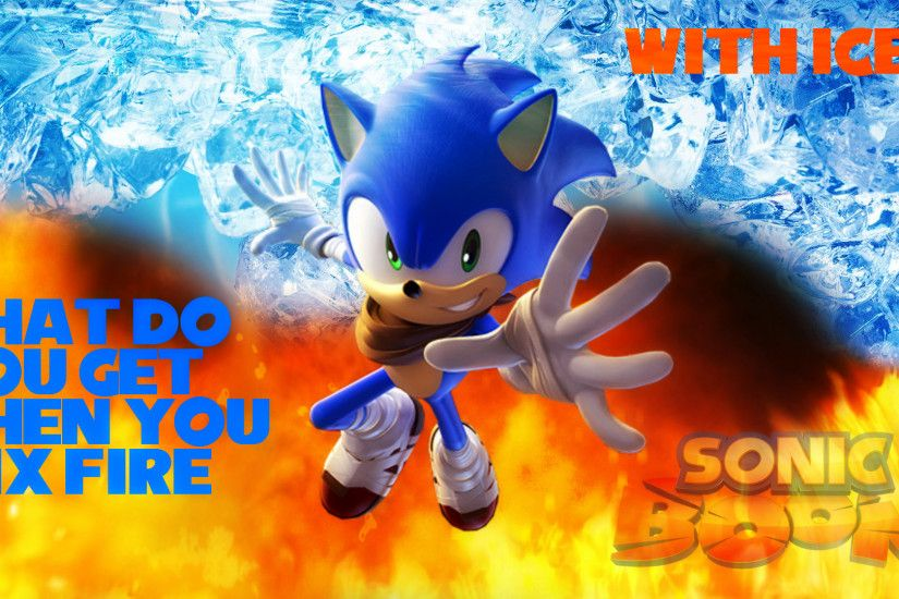 ... Wallpaper - Sonic Boom: Fire and Ice (#1) by Haalyle