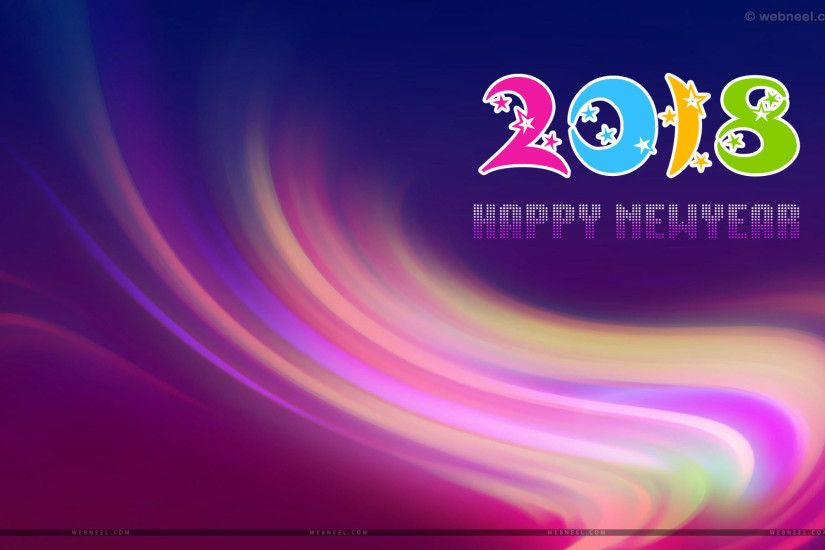 Free happy new year wallpaper 4 | < Back to Article