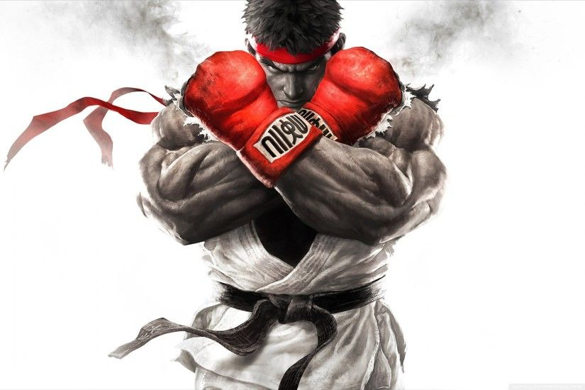Street Fighter V 2015 HD Wide Wallpaper for Widescreen