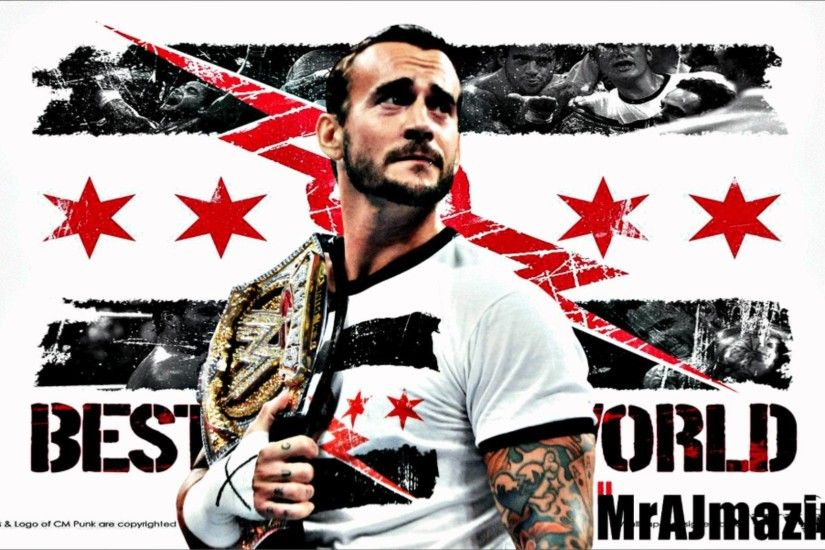 WWE : CM Punk Theme - Cult of Personality ( WWE Edit // Full & Clear )