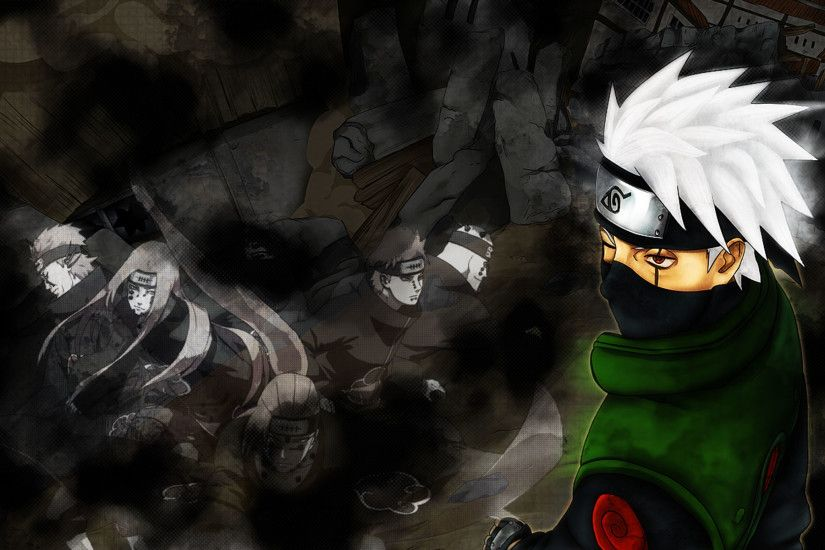 Hatake Kakashi Sharingan - Wallpaper - Qiura.net Sharingan | Etsy ...
