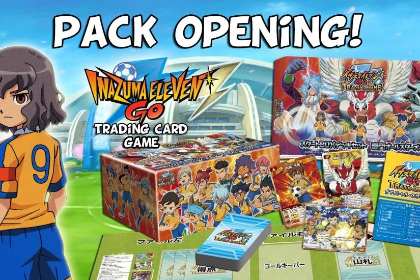 "~IGS-05 ""Inazuma Eleven GO"" TCG Start Box Deck~"