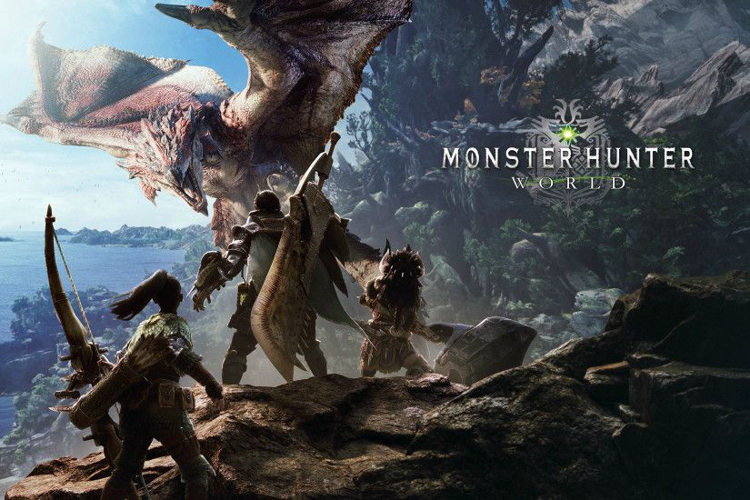 MHWorldMonster Hunter World HD wallpaper ...