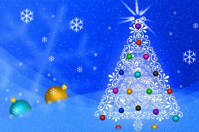 1920x1080 christmas tree hd wallpapers background abstract christmas tree  blue background - Winter Christmas Tree Backgrounds