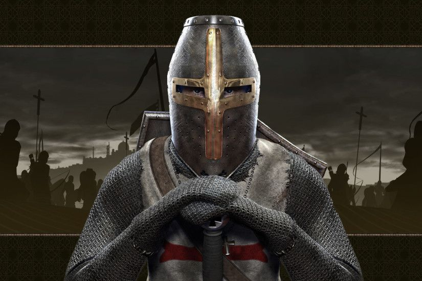 Crusader Knight Computer Wallpapers, Desktop Backgrounds | 1920x1080 .