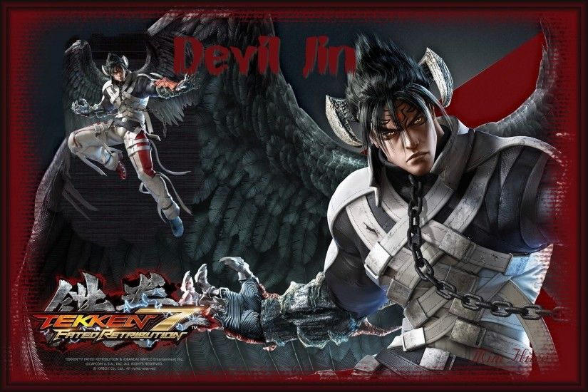 Devil Jin wallpaper by JinMimKazama Devil Jin wallpaper by JinMimKazama
