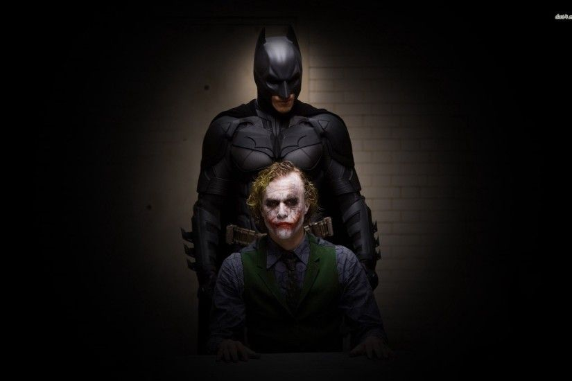 Batman And The Joker - Dark Knight 705602 ...