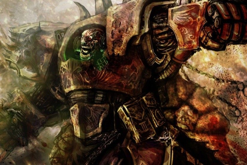 Chaos Space Marine - Warhammer 40,000 HD Wallpaper 1920x1080