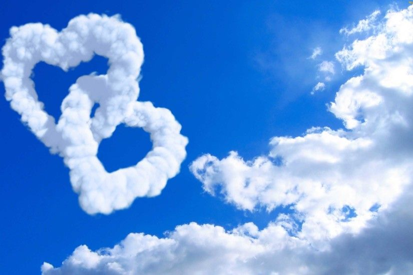 Cloud Love Hd Desktop Wallpaper | Desktopaper | HD Desktop Wallpaper