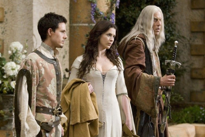 bridget regan legend of the seeker kahlan amnell bruce spence zeddicus zul  zorander jason smith Art