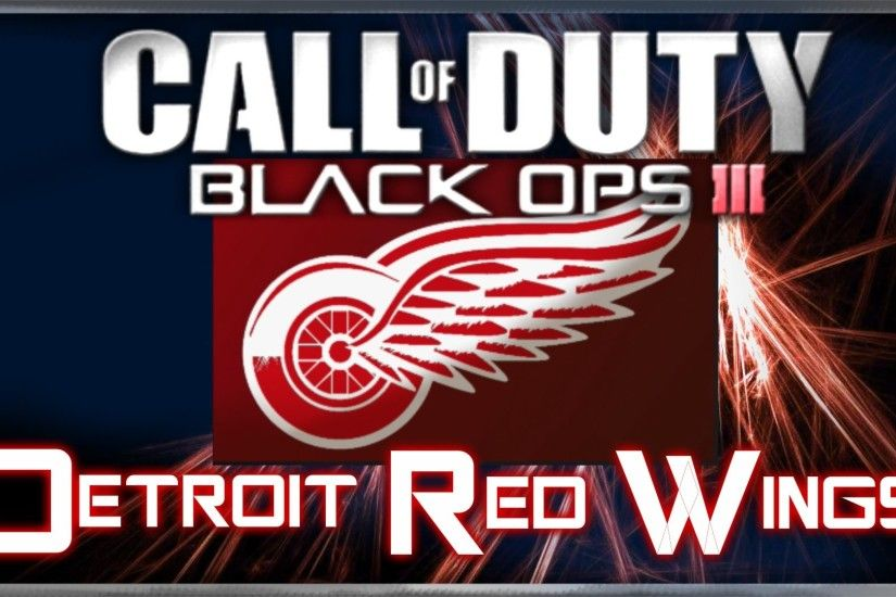 Detroit Red Wings (NHL Hockey) - Call of Duty Black Ops 3 Emblem Tutorial |  By A Hooded Psycho - YouTube