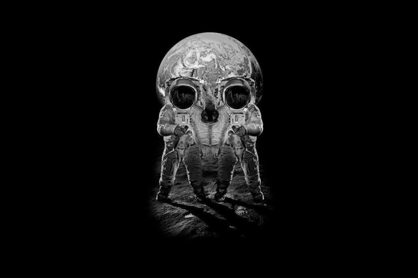 1920x1080 Skull Optical Illusion desktop PC and Mac wallpaper
